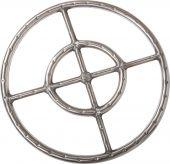 Dagan DG-FR-34-S Stainless Steel Fire Ring