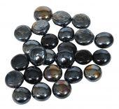 Dagan DG-GB-BLACKIR 3/4-Inch Fire Beads, 10, Black Iridescent