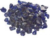 Dagan DG-GLL-DARKBL 1/2 - 3/4-Inch Fire Glass, 10, Dark Blue