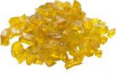 Dagan DG-GLL-YELLOW 1/2 - 3/4-Inch Fire Glass, 10, Yellow