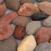 White Mountain Hearth DR1FMA Decorative Rocks Assortment, 2.5-Pounds