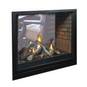 White Mountain Hearth DVCP36S Tahoe Clean-Face Direct Vent Premium Double Sided Fireplace, 36-Inches