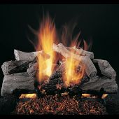 Rasmussen DF-EC-Kit Double Sided Evening Campfire Series Complete Outdoor Fireplace Log Set