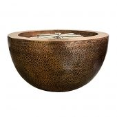 Prism Hardscapes PH-402-6 Moderno 3 Copper Gas Fire Pit, 30-Inch