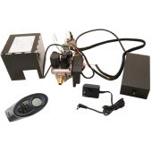 Real Fyre EPK-3V-TR 110v Electronic Valve System with Non-Standing Pilot and HI/LO Timer Remote Control, High Capacity