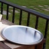 FDP-PANS-PANS Forno de Pizza Set of Two Aluminum Oven Pans, 12-Inch Diameter