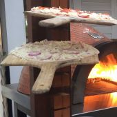 FDP-WOOD-PADDLE Forno de Pizza Wooden Pizza Paddle