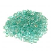 Real Fyre GL-10-E Emerald Fire Glass, 10 Pounds