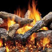 Majestic GO330 Fireside Grand Oak Vented Gas Log Set