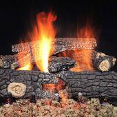 Majestic FRWO Fireside Realwood Outdoor Vented Gas Log Set