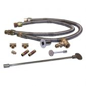 Warming Trends DFLKV34FIT250 Dual Flex Line and Key Valve Kit with FIT250
