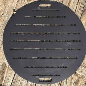 Fire Pit Art 30-Inch Carbon Steel Fire Pit Grate
