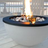 Kingsman FPB30TRG Decorative Charcoal Trim Ring for FPB30 Fire Bowl