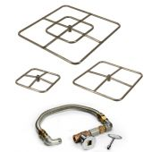 Hearth Products Controls FPS Square Match Light Gas Fire Pit Kit