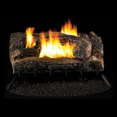 Superior FVFM27 27-Inch Millivolt Ignition Multi-Sided Vent-Free Ceramic Fiber Gas Log Set