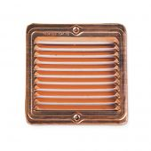 Grand Effects CVG6S Square 6x6-Inch Copper Vent Cover for Fire Pit Burner Inserts