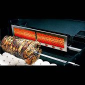 Modern Home Products GGRRB3 Infra-Roast Rotisserie Burner for Freestanding Grill