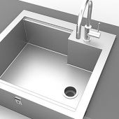 Hestan GIS30 Insulated Sink, 30-Inch