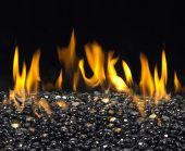 American Fyre Designs Black Pearl Fyre Glass Gems