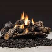 Kingsman GLMVF40 31-Inch Multi-Sided Vent-Free Millivolt Ignition Split Oak Gas Log Set
