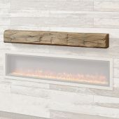 GreatCo GWBM Weathered Barnwood Supercast Wood Mantel