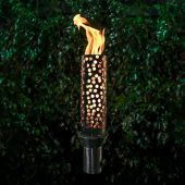 TOP Fires by The Outdoor Plus OPT-TCH14xSS Honeycomb Top-Lite Torch