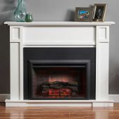 GreatCo Gallery Zero-Clearance Series Insert Electric Fireplace in Living Room