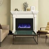 Amantii Insert Series Electric Fireplace with Ember Media Kit, 33 Inch