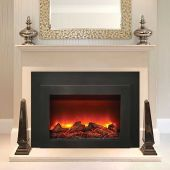 Amantii INS-FM-30 Electric Fireplace Insert with Black Surround/Overlay, 34-Inch Specs