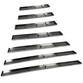 Hearth Products Controls Drop-In Fire Pit Burner Pan, Linear Interlink - Burner Included