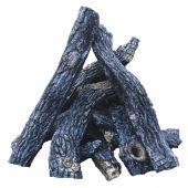 Firegear L-SEDONA Sedona Refractory Log Set for Outdoor Fire Features, 19-Piece Set