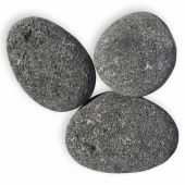 American Fire Glass Grey Lava Stone, 20 pounds, Extra Large 4-6 Inch