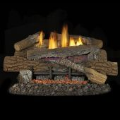 Superior LBGBM Vent-Free Concrete Boulder Mountain Gas Log Set