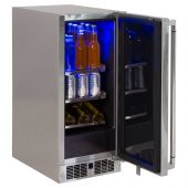 Lynx Stainless Steel Outdoor Refrigerator, 15-Inch