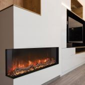 Modern Flames LPM-xx16 Landscape Series Pro MultiView 3-Sided Wall Mount/Built-In Electric Fireplace