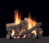 White Mountain Hearth LSxxP-Kit Refractory Ponderosa Complete Fireplace Log Set