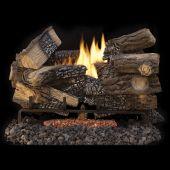 Superior LTFMM Vent-Free Ceramic Fiber Massive Mixed Oak Gas Log Set
