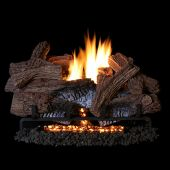Superior LTFWT Vent-Free Concrete Wild Timber Gas Log Set