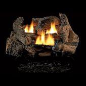 Superior LVDGO Vent-Free Ceramic Fiber Golden Oak Logs Gas Log Set