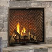 Majestic MARQ42IN-B Marquis II 42-Inch Direct Vent Gas Fireplace