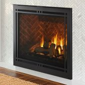 Majestic MERID42 Meridian 42-Inch Direct Vent Gas Fireplace