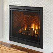 Majestic MERIDPLA42 Meridian Platinum 42-Inch Direct Vent Gas Fireplace