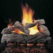Rasmussen DF-ML-Kit Double Sided Manzanita Series Complete Outdoor Fireplace Log Set