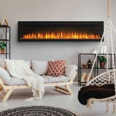 Napoleon Entice Series Electric Fireplace with Crystal Ember Media