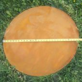 Fire Pit Art Circular Base Plate for Nepal Fire Pit