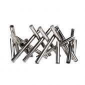 The Outdoor Plus OPT-CSxx10 Polished Stainless Steel Logs