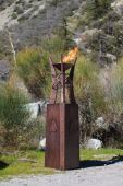 Top Fires by The Outdoor Plus OPT-FTWR3x Bastille Copper Fire Tower