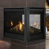 Majestic PEARL36PRIN Pearl II 36-Inch Direct Vent Multi-Sided Gas Fireplace