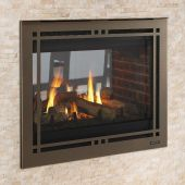 Majestic PEARL36STIN Pearl II 36-Inch See-Through Direct Vent Multi-Sided Gas Fireplace