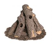 American Fyre Designs PRO-27 Prairie Oak Log Set